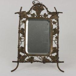 Portaretratos espejo modernista