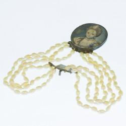 Pulsera perlas S.XVIII