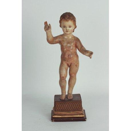 Figura niño Jesús siglo XIX