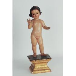 Figura de niño Jesús siglo XIX