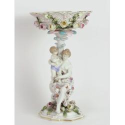 Centro de porcelana Meissen