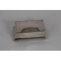 Caja de plata inglesa